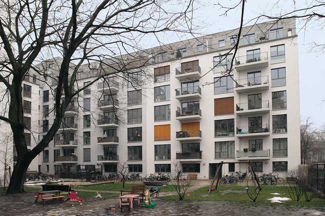 Erstes Berliner Passiv-Mietshaus am Arnimplatz