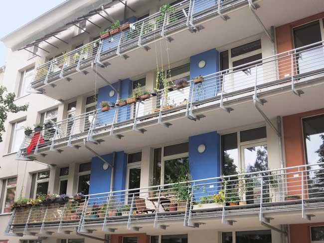 Wohnhaus in der Sophienstraße 35