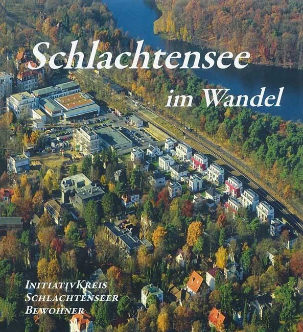 Titelseite des Buches 'Schlachtensee im Wandel'