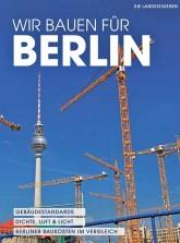 Titelseite des Buches 'Wir bauen für Berlin'