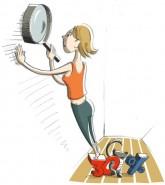 Illustration: Mängel mit der Lupe suchen