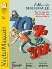 Titelseite MieterMagazin 4/2016