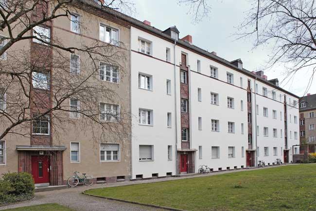 Häuser der ehemaligen Gagfah-Siedlung in Schmargendorf