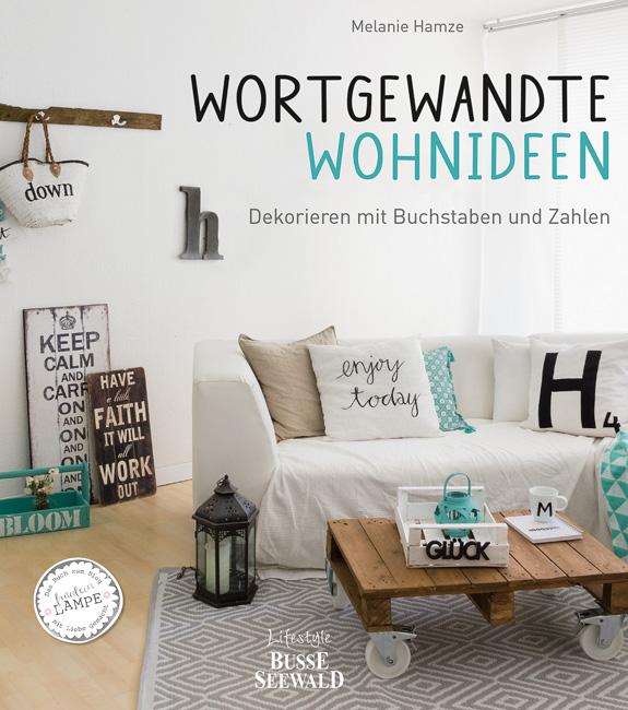 Titelseite des Buches 'Wortgewandte Wohnideen'