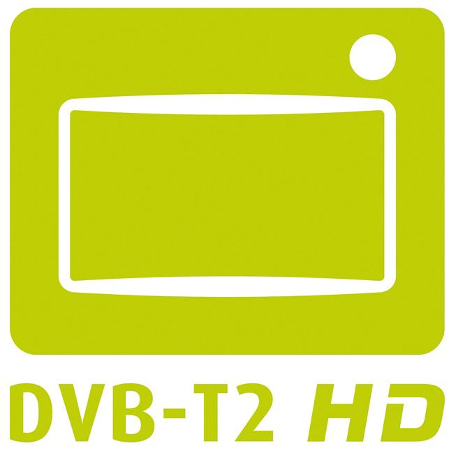 Logo für das hochauflösende Antennenfernsehen