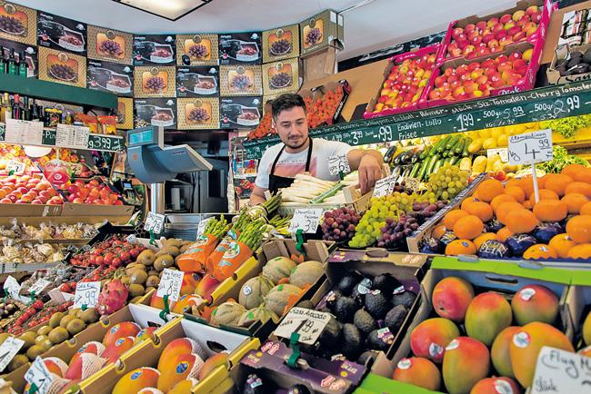 Gemüseladen in der Kantstraße