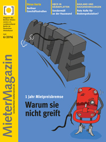 Titelseite MieterMagazin 6-2016