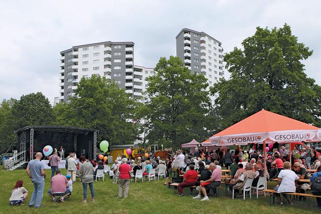 Nachbarschaftsfest im Märkischen Viertel