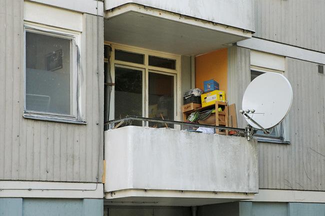 Balkon als Abstellplatz