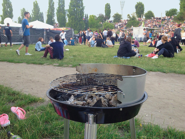 Grill im Park