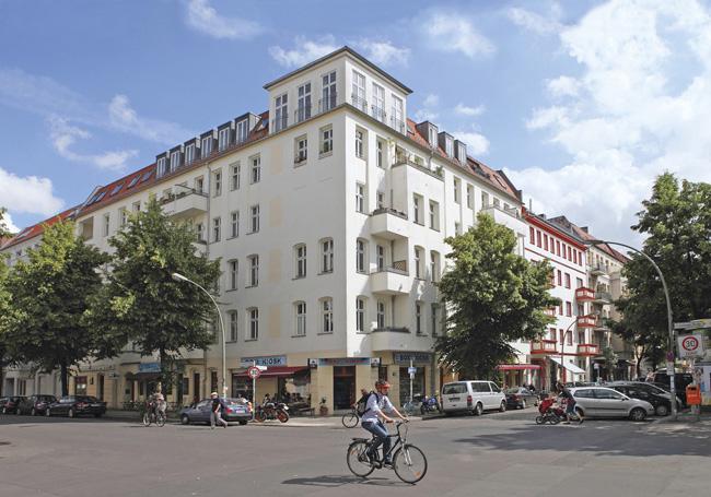 Wohnhaus Grünberger, Ecke Gärtnerstraße