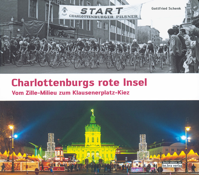 Titelseite des Buches 'Charlottenburgs rote Insel'