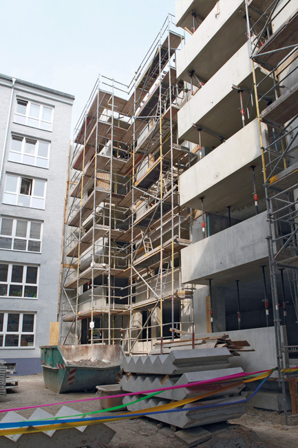 Ergänzungsbau in der Gubitzstraße