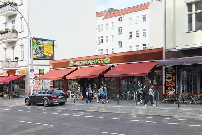 Biomarkt in der Warschauer Straße