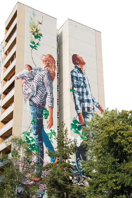 Wandbilder in Tegel-Süd