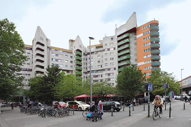Hochhaus am Kotti in Berlin-Kreuzberg