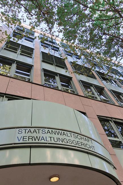 Gebäude der Staatsanwaltschaft und des Verwaltungsgerichts