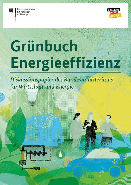 Titelseite 'Grünbuch Energieeffizienz'