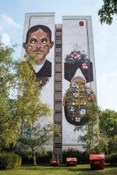 Wandbild in Tegel-Süd