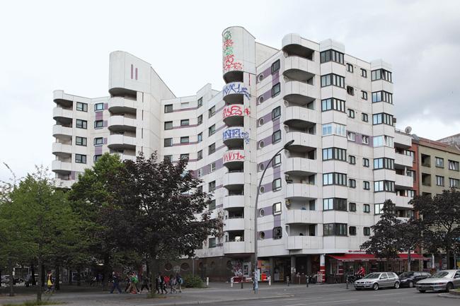 Hochhaus des Neuen Kreuzberger Zentrums