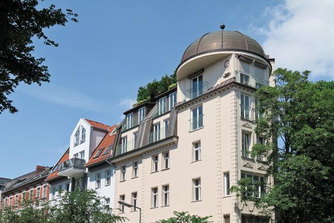 Dachgeschossausbau mit Kuppeldach