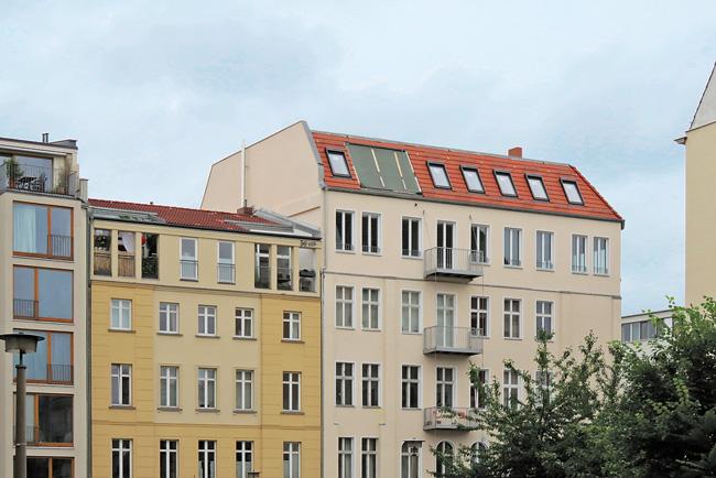 Ausgebaute Dachgeschosse im Altbau