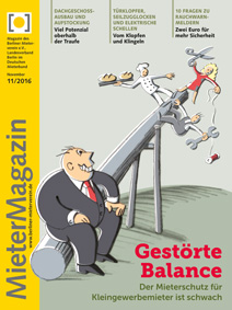 Titel MieterMagazin 11/2016