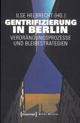 Titelseite des Buches 'Gentrifizierung in Berlin'