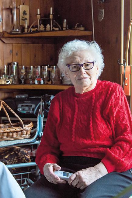 Pankower Seniorin