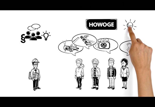 Bild aus dem Howoge-Erklärfilm