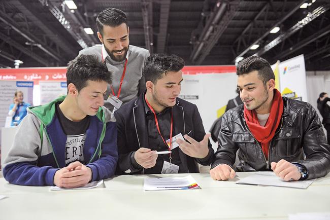 Ausbildung von Flüchtlingen bei der Gewobag