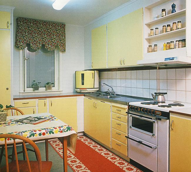 Einbauküche mit separatem Elektroherd