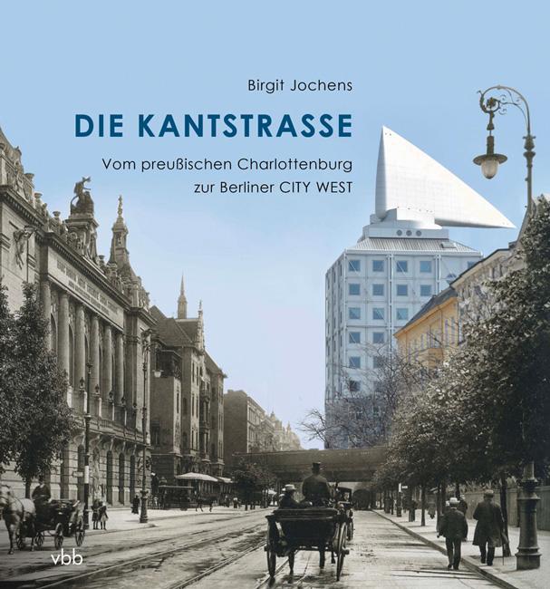 Titelseite des Buches 'Die Kantstraße'