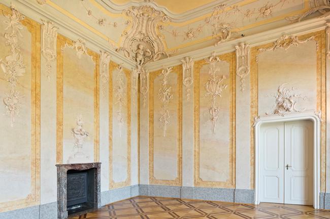 Raum im Schloss Schönhausen in Berlin