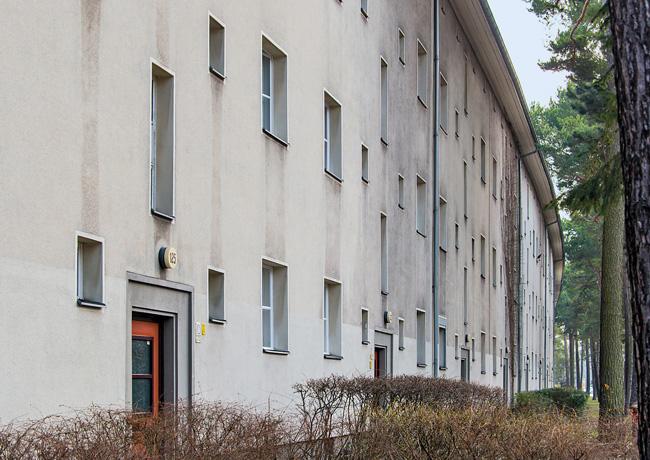 DW-Gebäude an der Argentinischen Allee