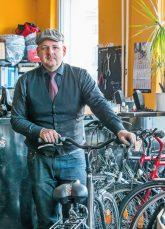 Marcus Mehrling vom Fahrradladen 'Bike Pirat'