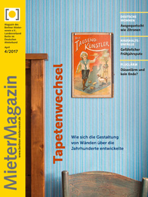 Titelseite MieterMagazin 4-2017