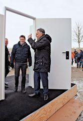 'Offene Tür' bei der Genossenschaft 'Marzahner Tor'