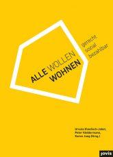 Titelseite des Buches 'Alle wollen wohnen'