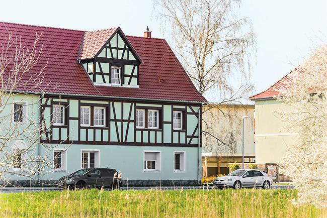Modernisiertes Fachwerkhaus in Lübbenau