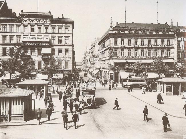 Pension 'Daheim', Unter den Linden, 1920er Jahre