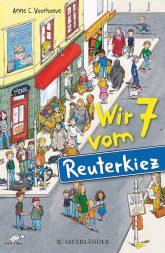 Titelseite des Buches 'Wir 7 vom Reuterkiez'