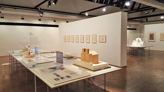 Otto-Bartning-Ausstellung in der Akademie der Künste