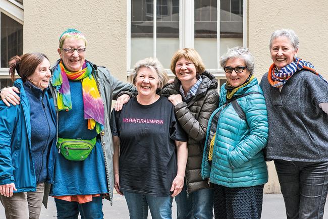 Frauen des Projekts 'Wohntraum e.V.'