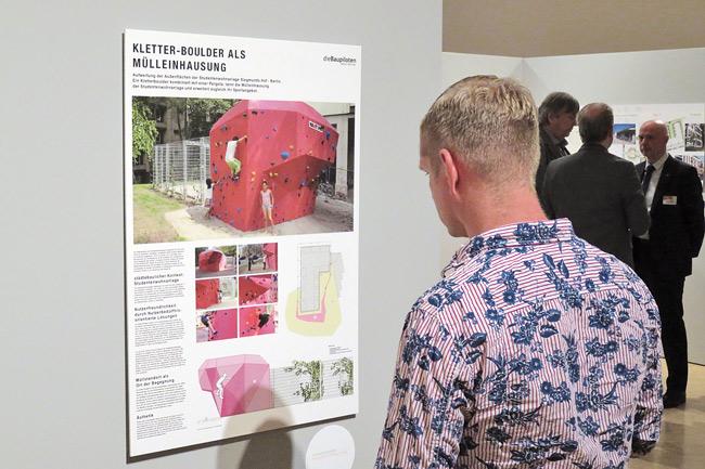 Präsentation der Entwürfe in der Berlinischen Galerie