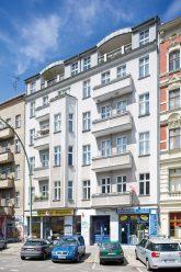 Wohnhaus in der Wrangelstraße