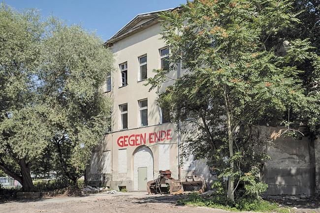 Leergezogenes Kreuzberger Wohnhaus in der Enckestraße 4/4a