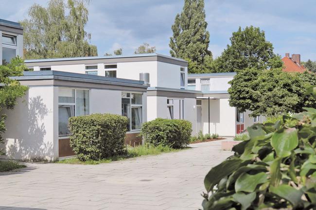 Studentenwohnheim am Dauerwaldweg im Grunewald