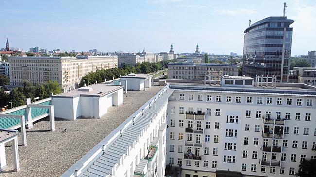 Wohnbebauung in der Karl-Marx-Allee