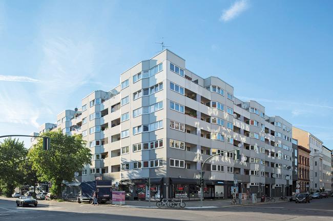 Modernisierungsobjekt Lützowstraße